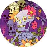 Mike BERTINO: веселые черепа